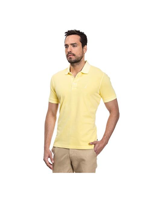 Nautica Polo Yaka Tişört Sarı